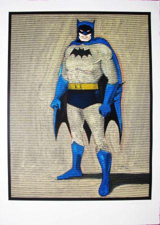 Holzschnitt Ramos - Batman
