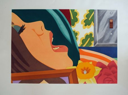 Aquatinta Wesselmann - Bedroom face