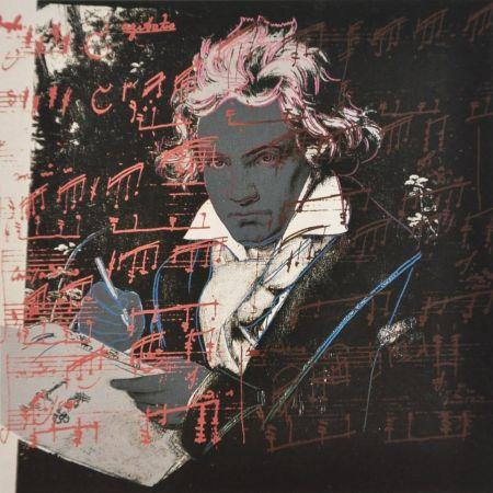 Siebdruck Warhol - Beethoven (FS II.391)