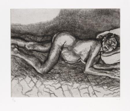 Radierung Freud - Before the Fourth