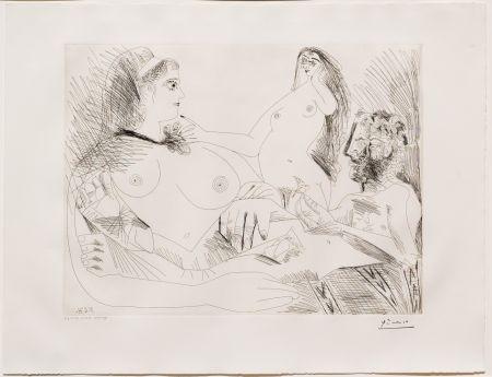 Stich Picasso - Belle Jeune Femme a sa Toilette Revant