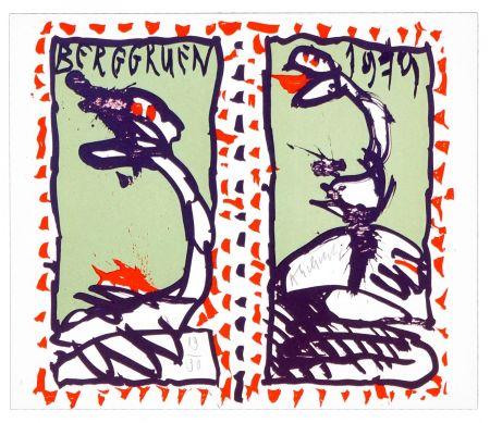 Lithographie Alechinsky - Berggruen