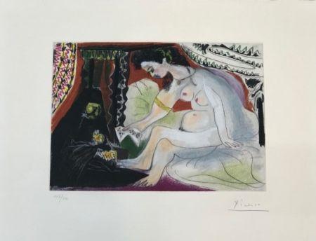 Radierung Und Aquatinta Picasso - Betsabée