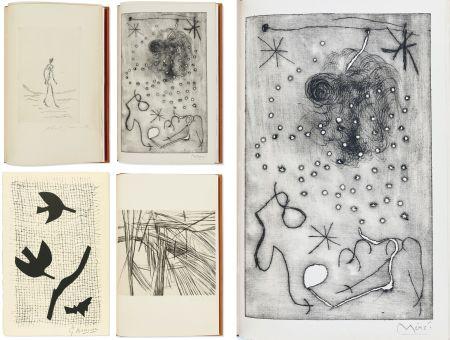 Illustriertes Buch Miró - Bibliographie des œuvres de René Char (PAB 1964) Gravures signées de Giacometti, Miro, Braque, Da Silva, etc.