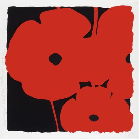 Siebdruck Sultan - Big Poppies