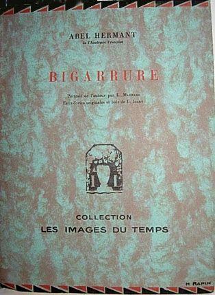 Illustriertes Buch Icart - Bigarrure