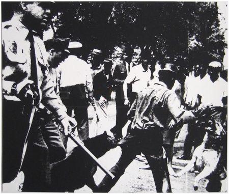 Siebdruck Warhol - Birmingham Race Riot (FS II.3)