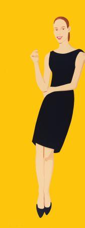 Siebdruck Katz - Black Dress - Ulla