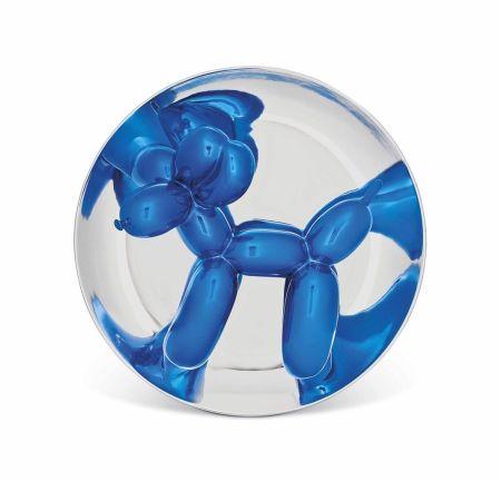Keine Technische Koons - Blue Balloon Dog