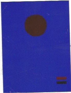 Siebdruck Gottlieb - Blue night