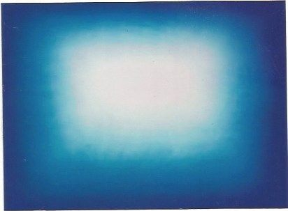 Radierung Und Aquatinta Kapoor - Blue shadow 3