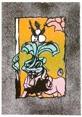 Lithographie Alechinsky - Boeuf gros sel