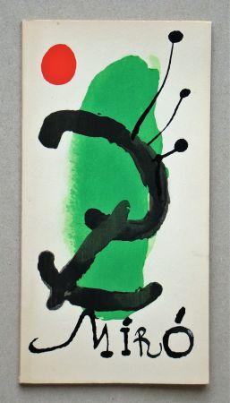Illustriertes Buch Miró - Bois gravés pour un poème de Paul Eluard