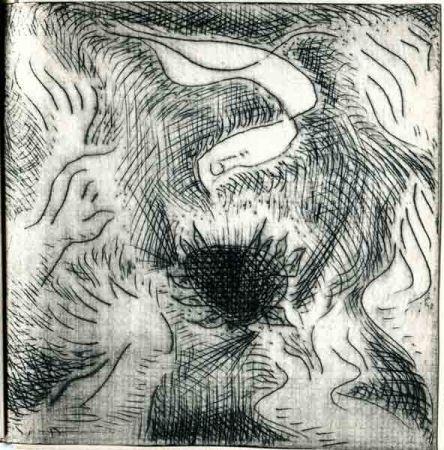 Radierung Masson - BOISSONNAS (Edith). Limbe.