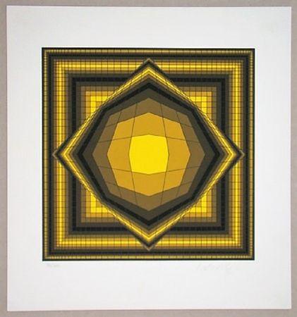 Siebdruck Vasarely - Boréal