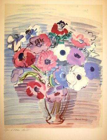 Artworks of raoul dufy proposed by galerie mourlot on the - Bouquet de fleurs en anglais ...