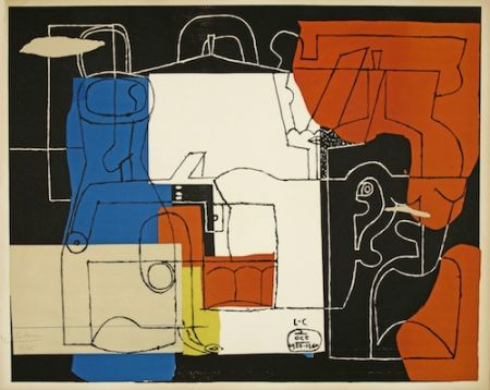Lithographie Le Corbusier - Bouteilles (hand-signed & numbered)