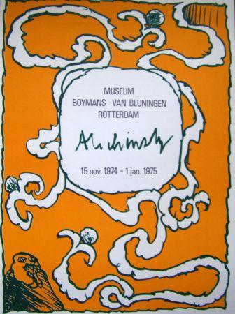 Plakat Alechinsky - Boymans