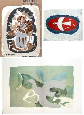 Illustriertes Buch Braque - BRAQUE, derniers messages. Derrière le Miroir n° 166 . Juin 1967.