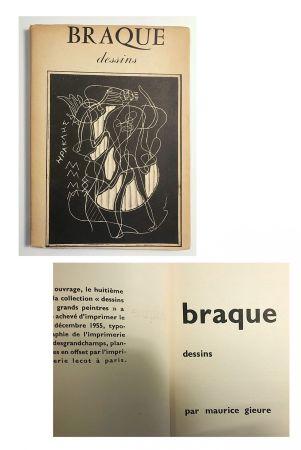 Illustriertes Buch Braque - Braque dessins (1955)