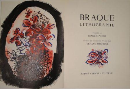Illustriertes Buch Braque - Braque Lithographe