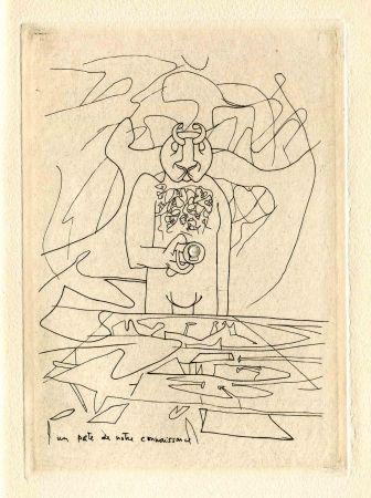 Kaltnadelradierung Matta - BRETON (André). Les Manifestes du Surréalisme - suivis de Prolégomènes à un troisième Manifeste du Surréalisme ou non.