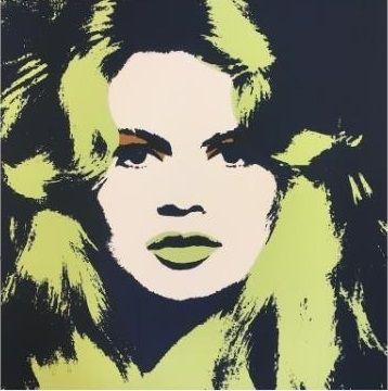 Siebdruck Warhol (After) - Brigitte Bardot