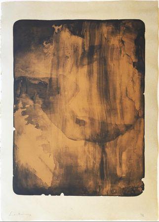 Siebdruck Frankenthaler - Bronze Smoke