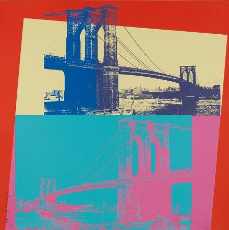 Siebdruck Warhol - Brooklyn Bridge