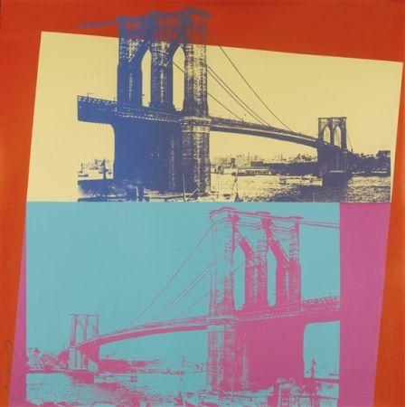 Siebdruck Warhol - Brooklyn Bridge (FS II.290)