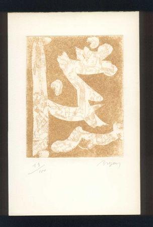 Illustriertes Buch Bryen - BUTOR (Michel). Bryen en temps conjugués.