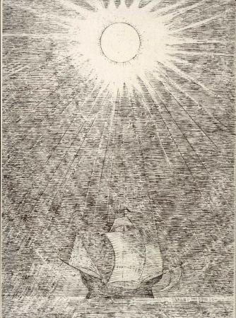Illustriertes Buch Masurovsky - BUTOR (Michel). L'Oeil des Sargasses.