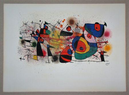 Lithographie Miró - Céramiques