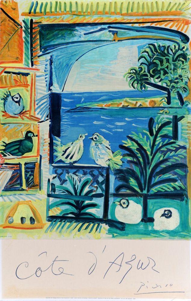 Plakat Picasso - Côte d'Azur