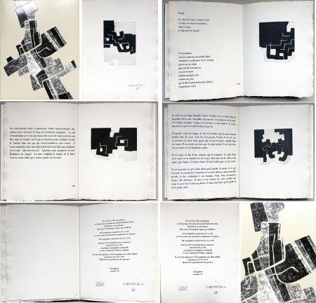 Illustriertes Buch Chillida -  C. Racine. LE SUJET EST LA CLAIRIÈRE DE SON CORPS. Poèmes. 4 eaux-fortes originales (1974)