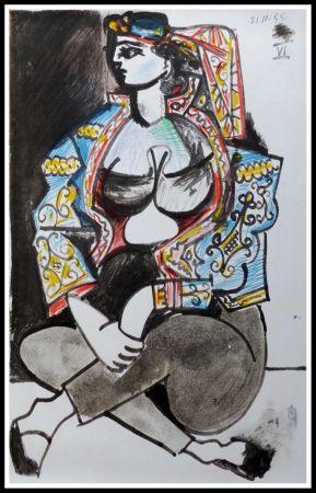 Lithographie Picasso (After) - CAHIER DE LA CALIFORNIE IX