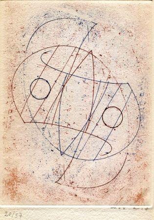 Radierung Ernst - CAILLOIS (Roger). Obliques.