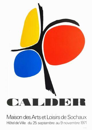 Plakat Calder - CALDER 71 : Exposition Maison des Arts de Sochaux.