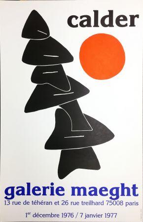 Plakat Calder - CALDER 76 : Exposition à la Galerie Maeght Dec. 1976 - Janv. 1977.