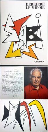Illustriertes Buch Calder - CALDER. STABILES. Derrière le Miroir n° 141. 8 LITHOGRAPHIES ORIGINALES (1963)
