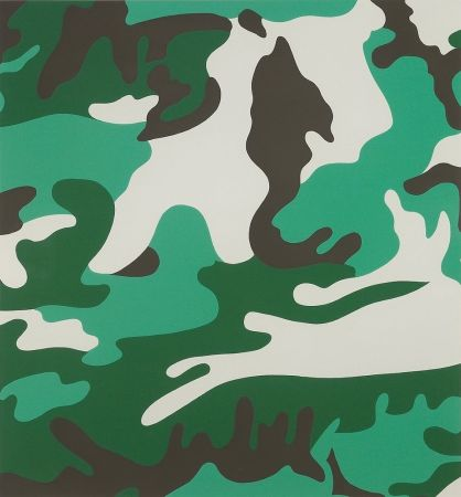 Siebdruck Warhol - Camouflage (FS II.406)