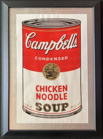 Siebdruck Warhol - Campbell's soup