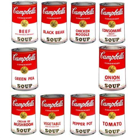 Siebdruck Warhol (After) - Campbell's Soup - Portfolio