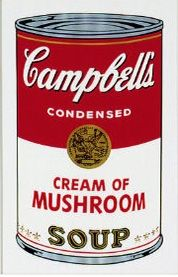 Siebdruck Warhol (After) - Campbell´s Soup Can