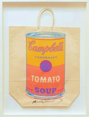 Siebdruck Warhol - Campbell's Soup Can (Tomato)