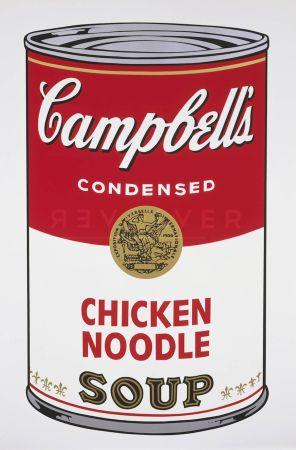 Siebdruck Warhol - Campbell's Soup I: Chicken Noodle (Fs Ii.45)