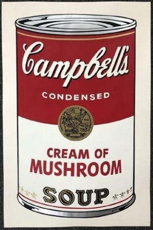 Multiple Warhol - Campbell's soup I: Cream of Mushroom
