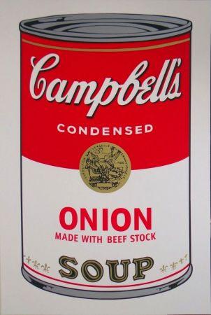 Siebdruck Warhol - Campbell's Soup I: Onion (FS II.47)