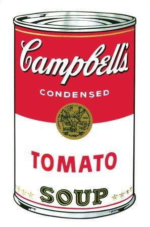 Siebdruck Warhol - Campbell's Soup I: Tomato (FS II.46)