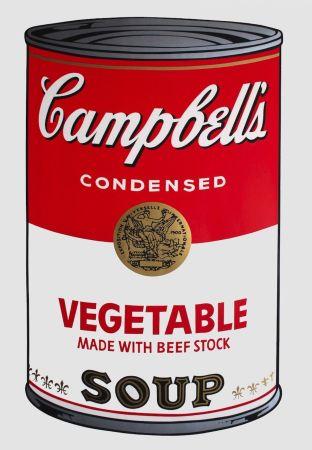 Siebdruck Warhol - Campbell's Soup I: Vegetable (FS II.48)